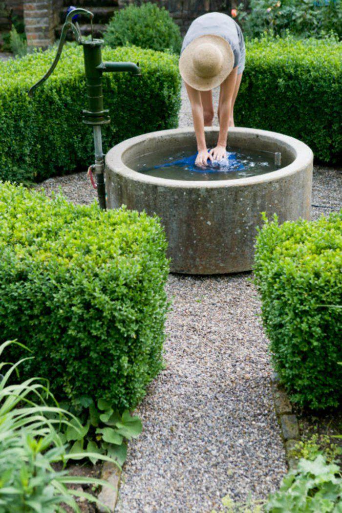 Zierbrunnen Richtig Pflegen Und Mogliche Gefahren Vermeiden Brunnen Garten Gartenbrunnen Wasser Im Garten