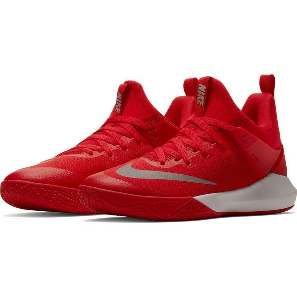 29075f091b5 Nike Zoom Shift TB Mens Basketball Shoes 11 University Red 897811 600  Nike   BasketballShoes