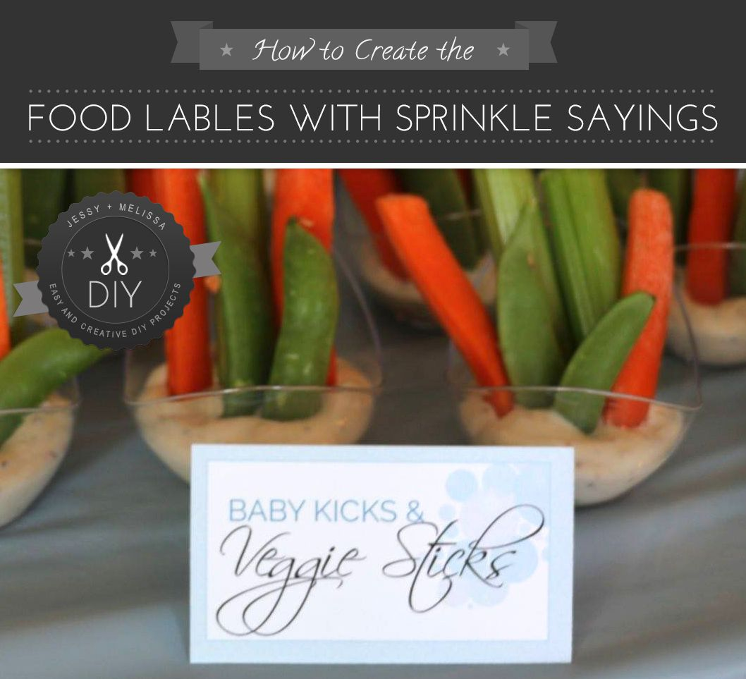 How to create Food Tents u0026 Sticks with Sprinkle Sayings // I have an odd & How to create Food Tents u0026 Sticks with Sprinkle Sayings | DIY and ...