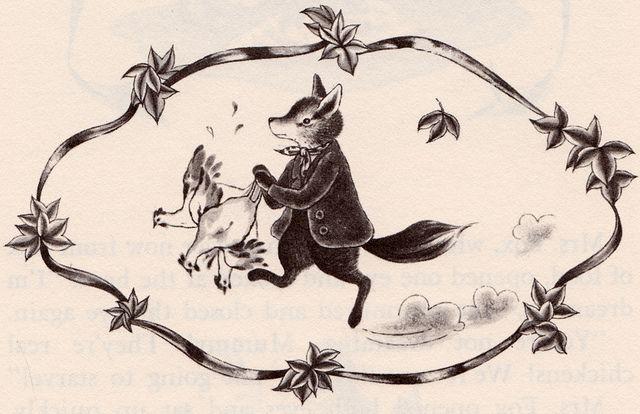 Fantastic Mr Fox By Roald Dahl Fox Illustration Fantastic Mr Fox Illustration
