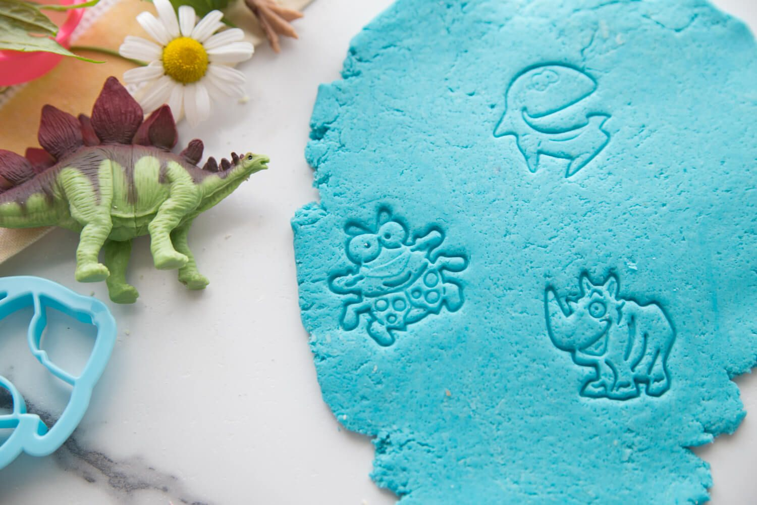 The Best No Cook Playdough Recipe In