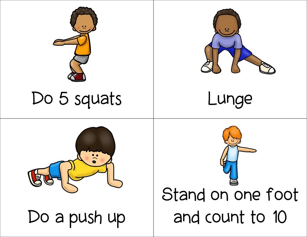 These Physical Activity Task Cards Feature 40 Different