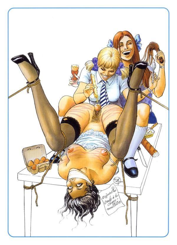 Bande dessinée porno anglais