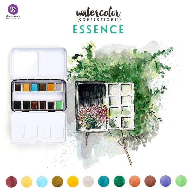 Prima Watercolor Confections Watercolor Pans Essence에 대한 이미지 검색결과