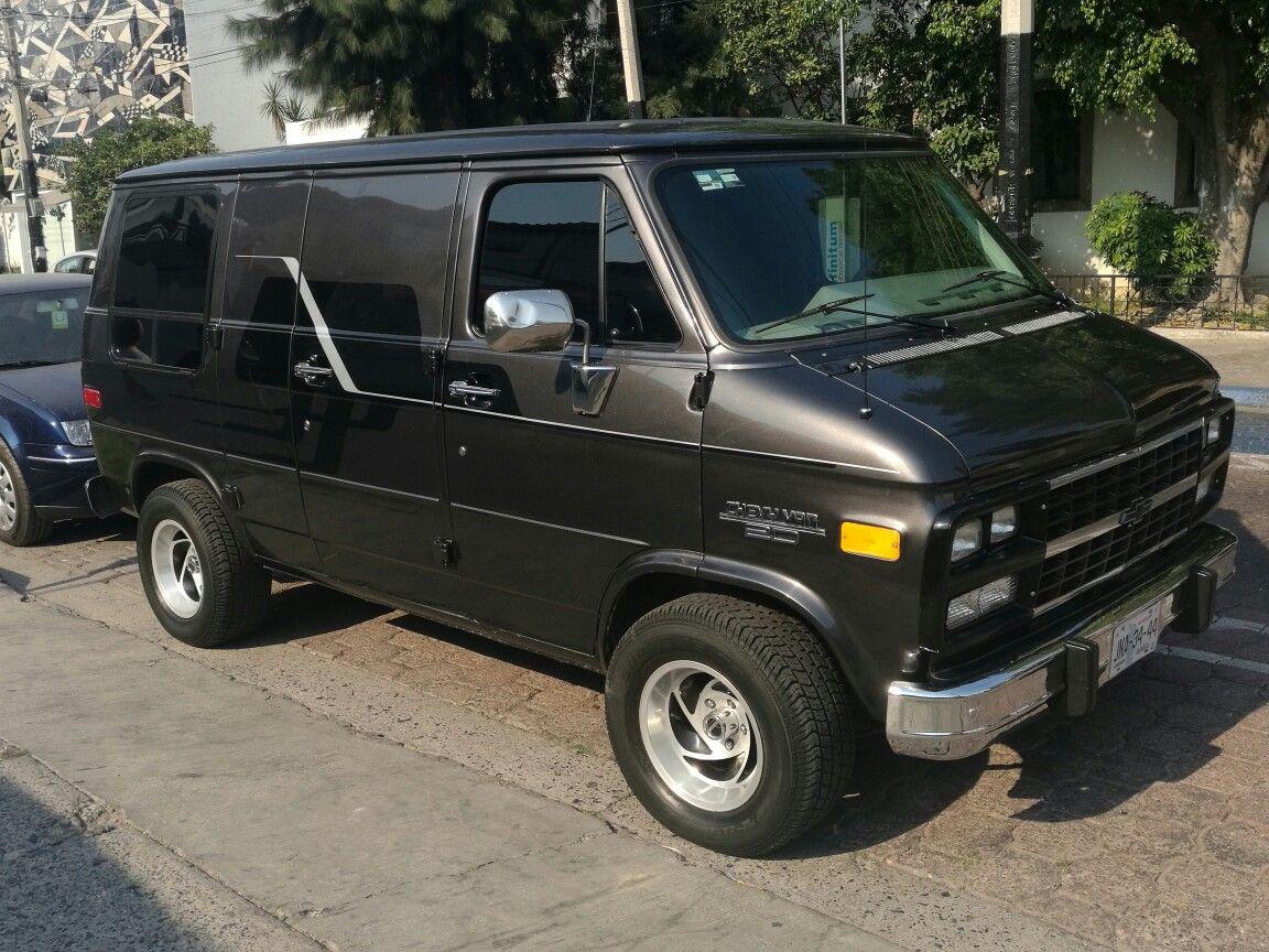93 chevy van