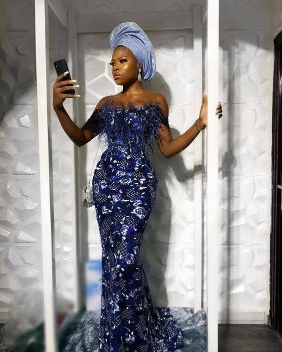 Latest Asoebi Styles Collection 5.4   Stylish Gwin Blog #nigeriandressstyles