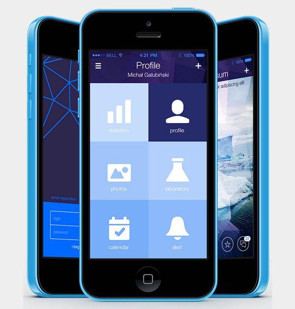 Primer on types of navigation in mobile apps app design