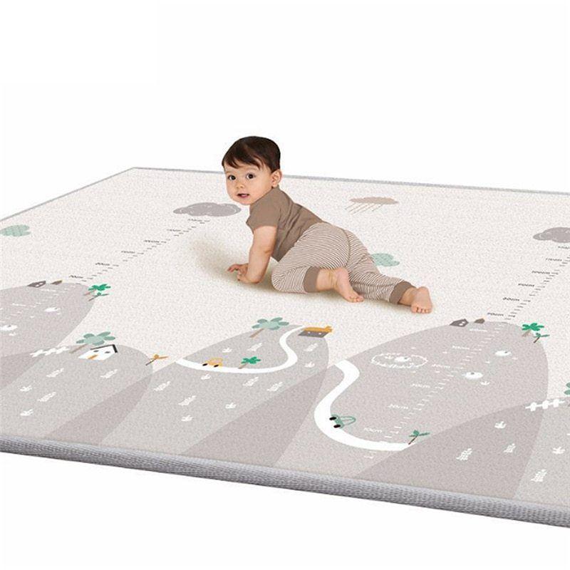 Children/'s Play Mat Carpet Thick Baby Kids Crawling Mat Waterproof XPE Non Toxic