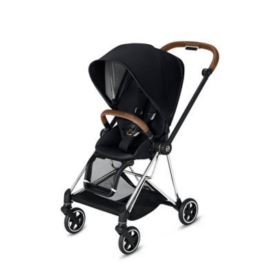 b0a705f98 Cybex Mios Stroller With Chrome/brown Frame And Premium Black Seat Brown /black