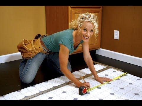 Виниловая плитка для пола в интерьере | Vinyl tiles in the interior - YouTube