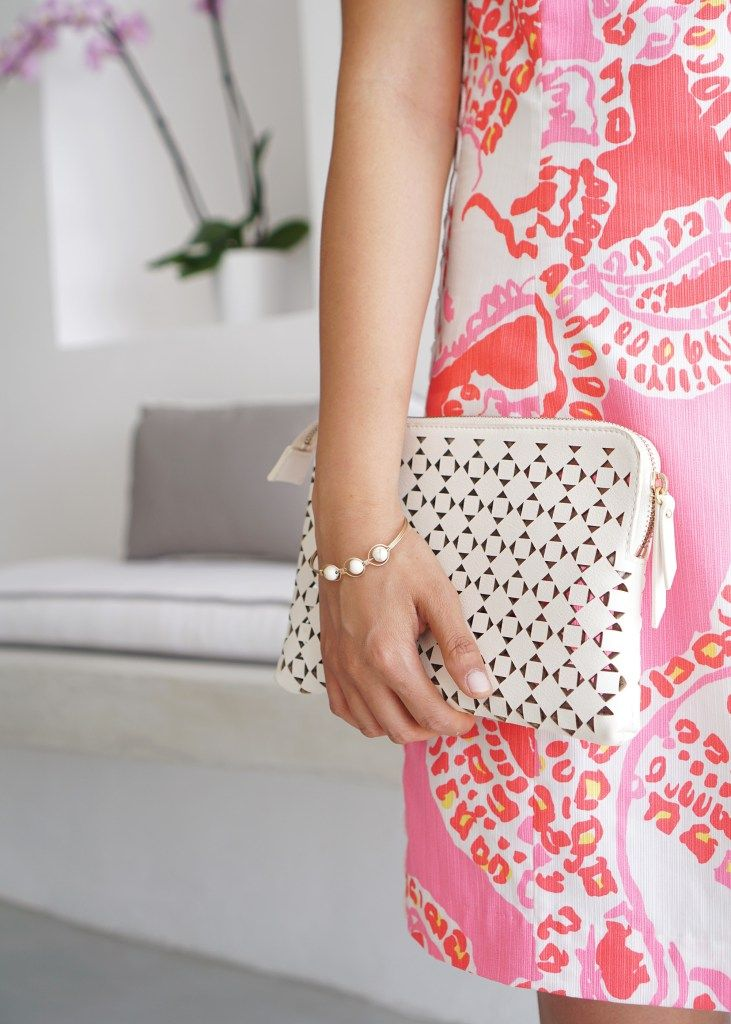 Summer Must Have Accessories / Laser Cut Out Clutch