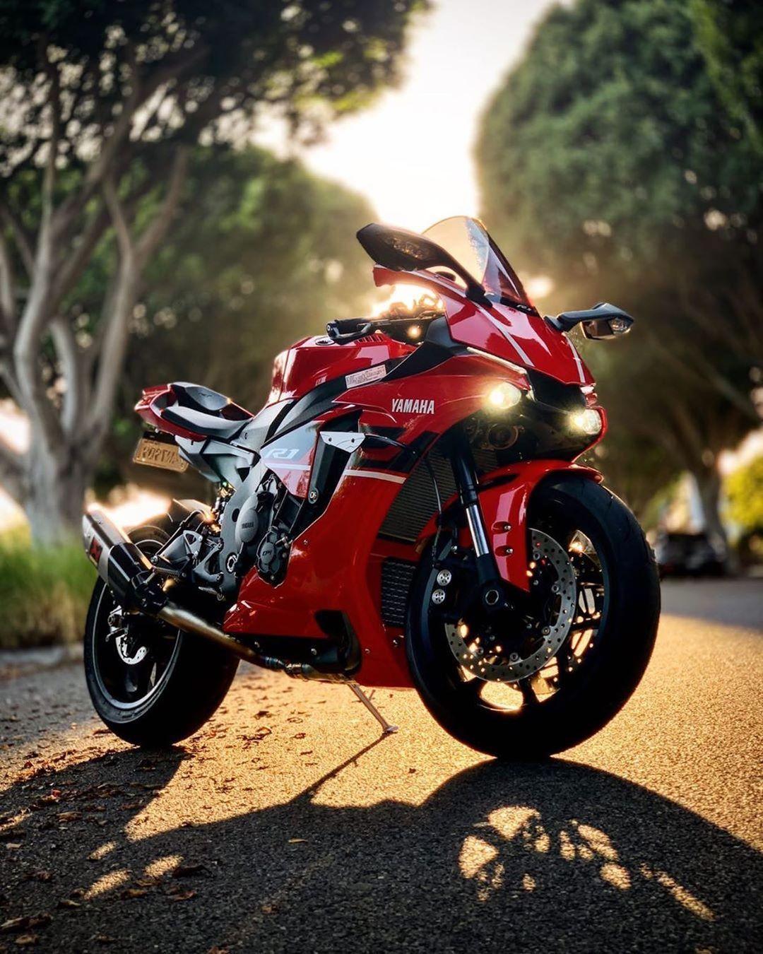 """[ WE / R1 ] on Instagram """"Red Gem ️"""" in 2020 Sportbikes"""