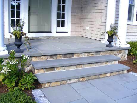 Best Bluestone Stair Treads Irregular Step Treads With Stacked 640 x 480