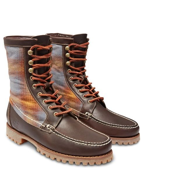 timberland authentics 8-inch rugged handsewn boots