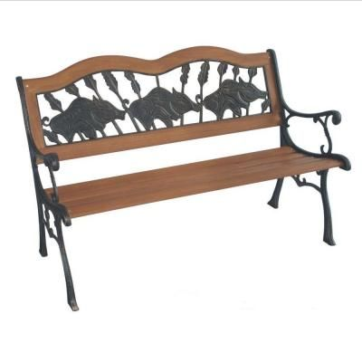 Parkland Heritage If Pigs Could Fly Patio Park Bench SL2007 PF