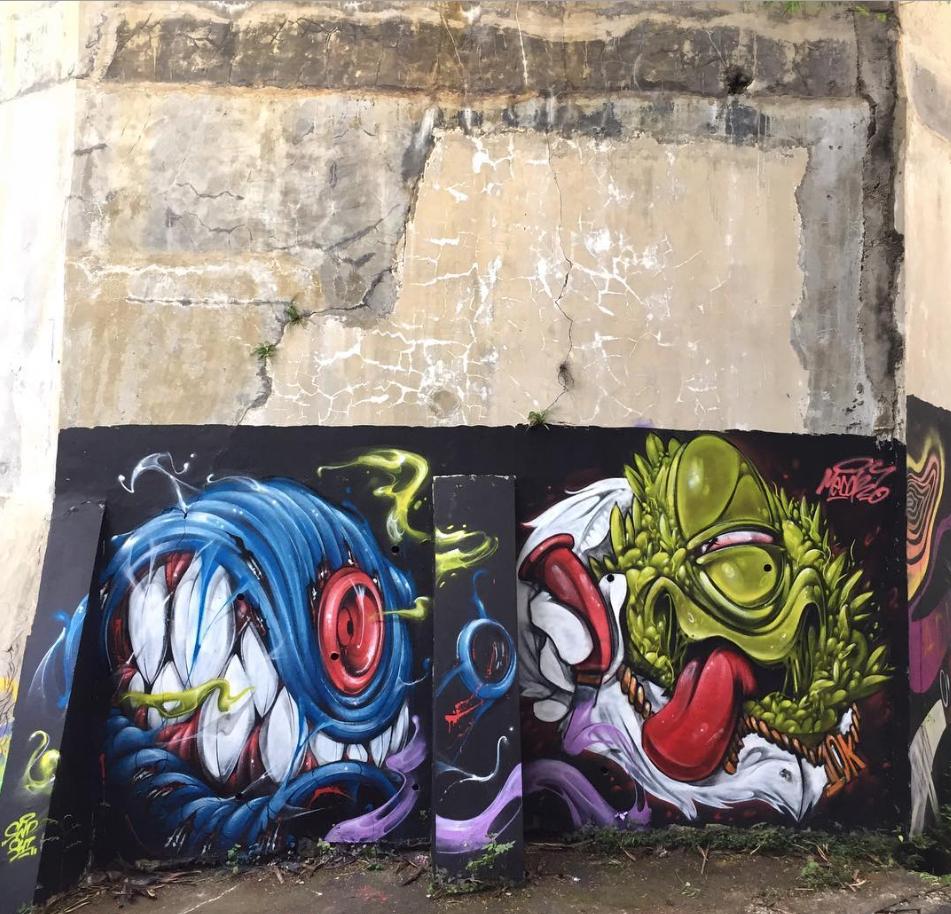 Swodshit indonesia 2017 murals street art 3d street art street art graffiti