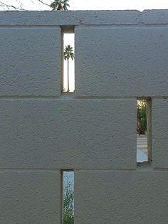 Decorative Patterned Concrete Blocks Block Fence Idea