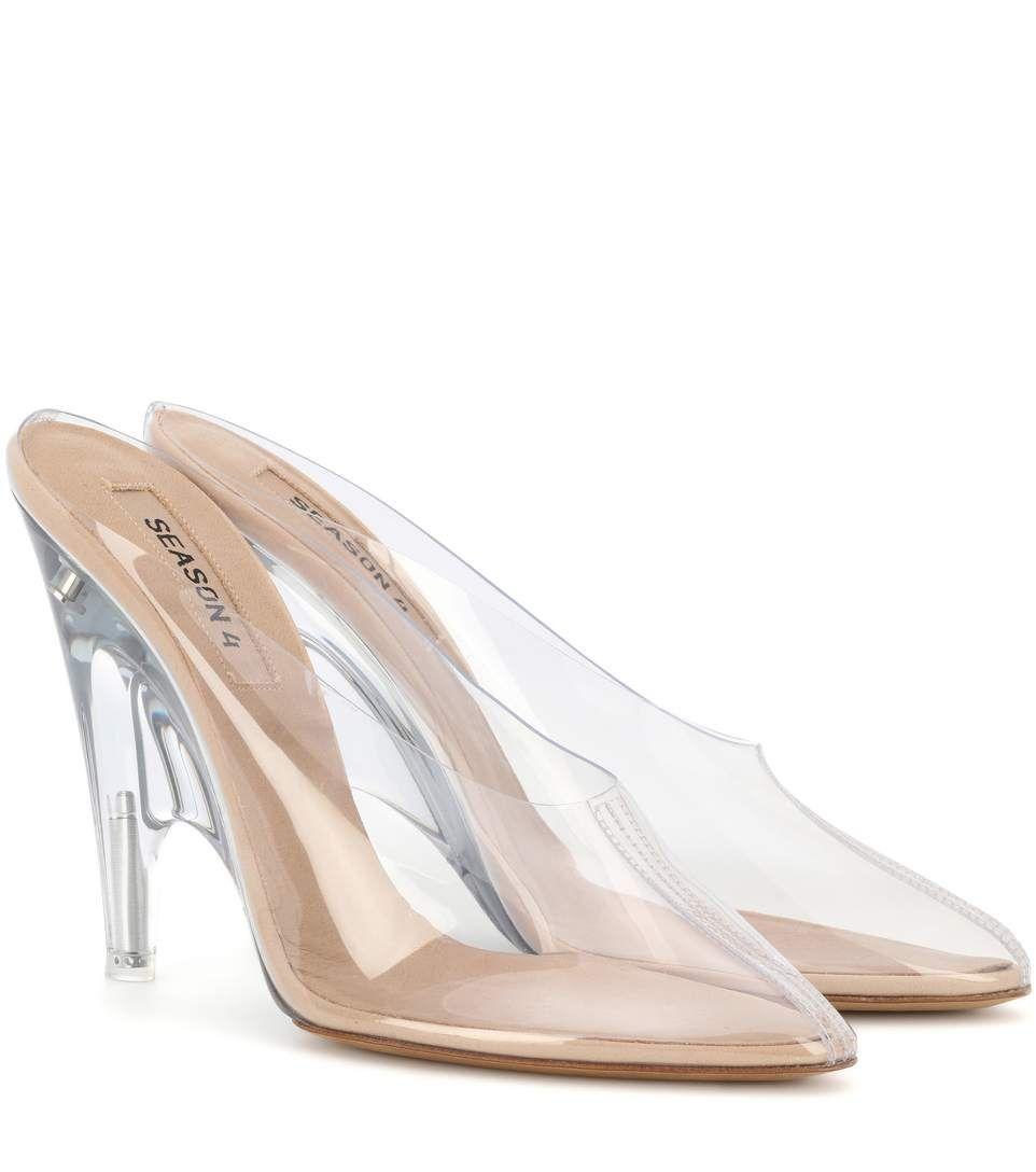 c16100d534219 YEEZY Transparent Mules (Season 4).  yeezy  shoes  pumps