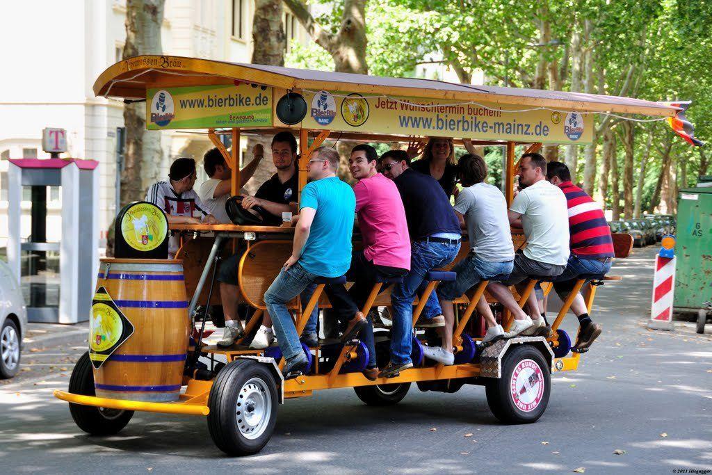 7 Popular Beer Bike Tours In Europe Bike Tour Beer Bike