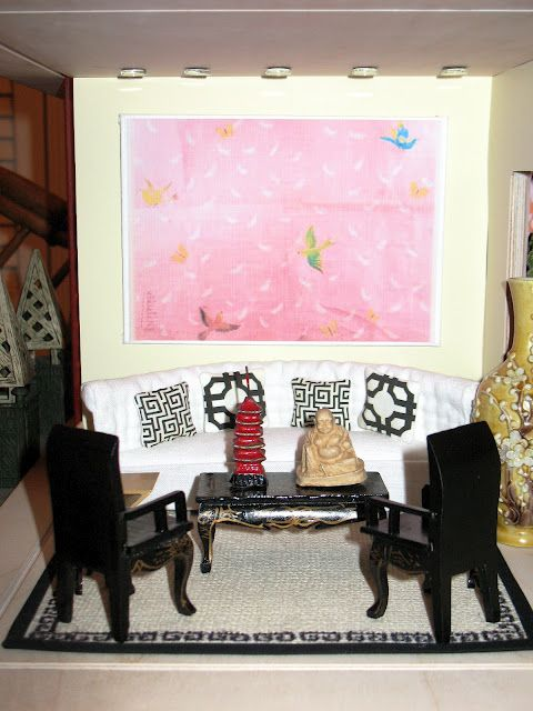 Chinoiserie Chic: Chinoiserie Pillows -- this is the dollhouse ...