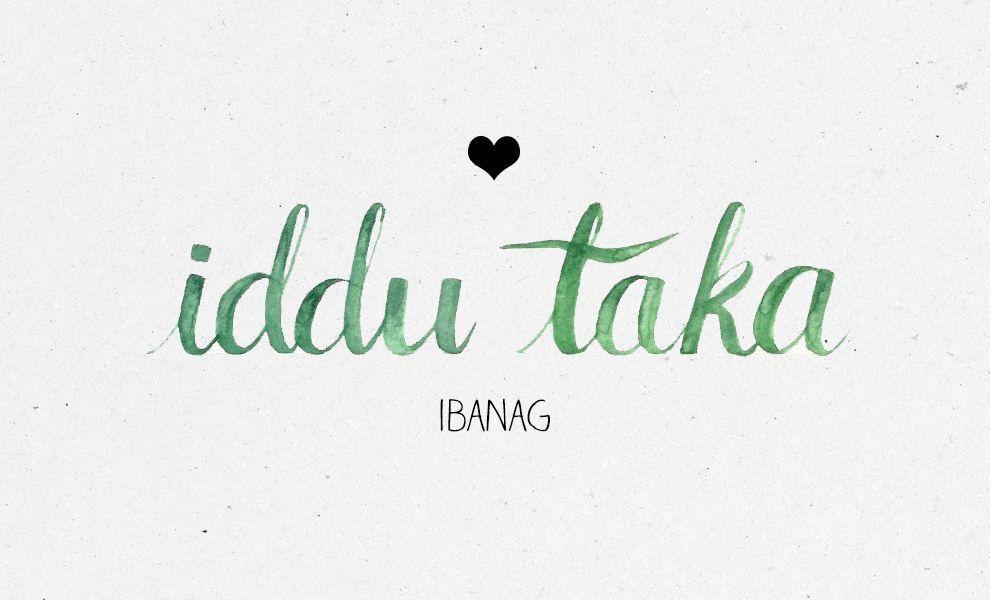 Ibanag: | Words and Language | Filipino tattoos, Tagalog