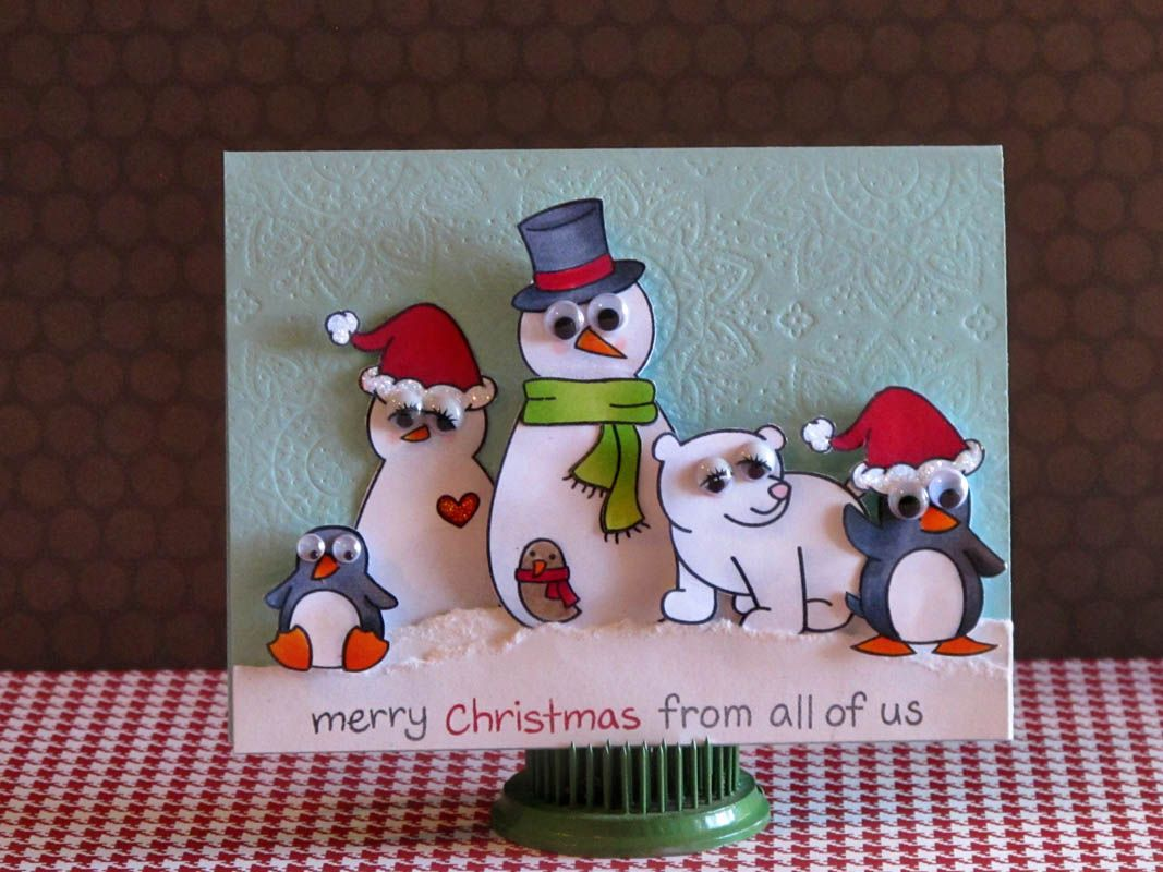 Xmas Card Ideas To Make Part - 29: 20 Cool Christmas Card Ideas