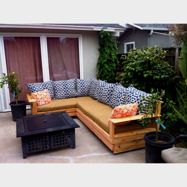 Pallet Furniture Outdoor Sectional