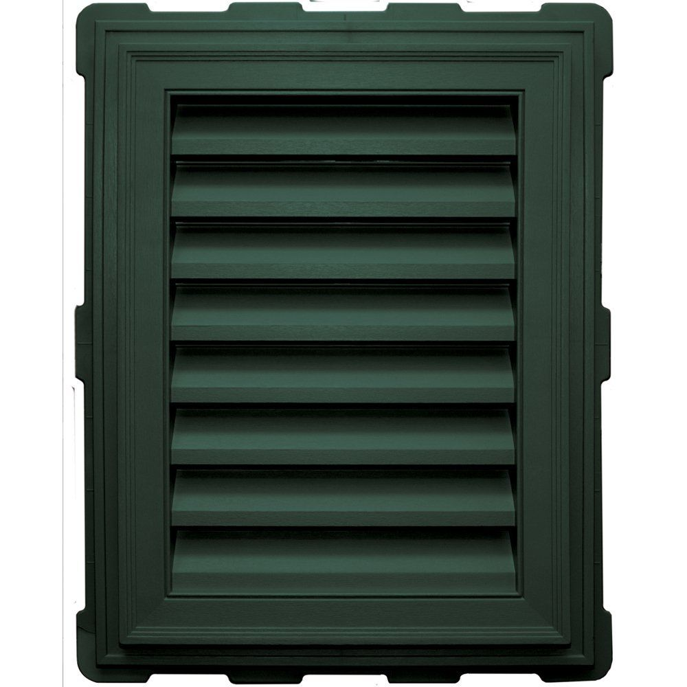 Builders Edge 120071824028 18 X 24 Rectangular Brick Mold 028 Forest Green Click On The Image For Additional Det Builders Edge Gable Vents Brick Molding