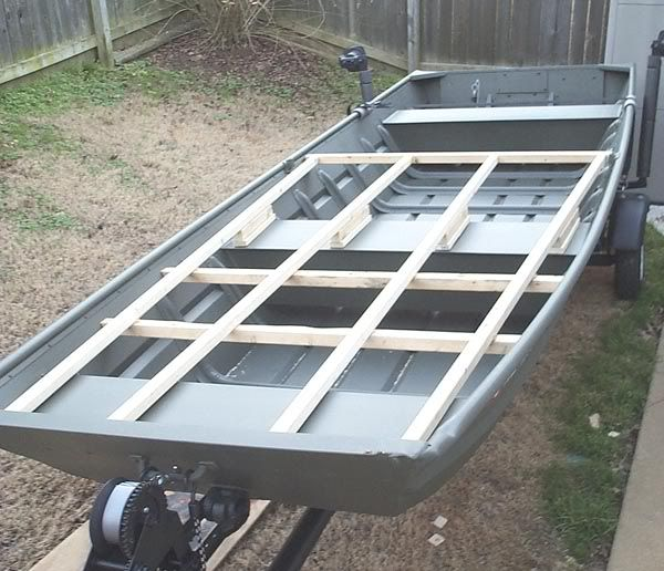 John Boat Floor Installation Page: 1   Iboats Boating Forums