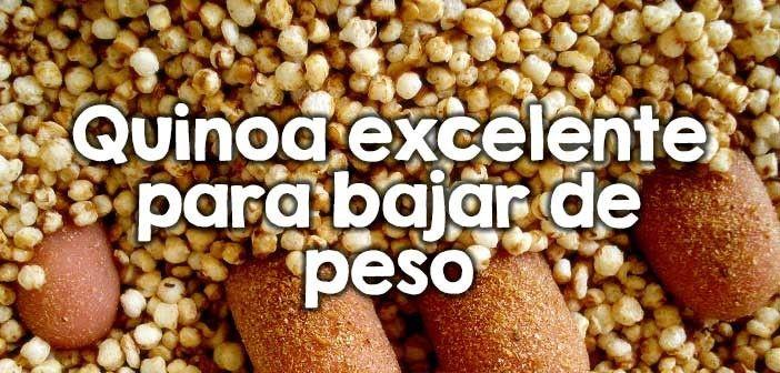licuado de quinoa para adelgazar