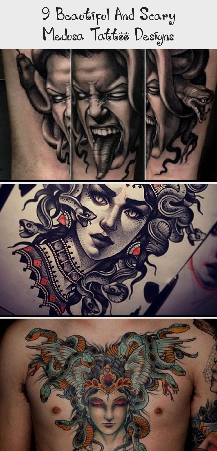 9 Beautiful And Scary Medusa Tattoo Designs Styles At Life Arttattoochest Arttattoowatercolor Japanesearttat In 2020 Medusa Tattoo Design Medusa Tattoo Art Tattoo
