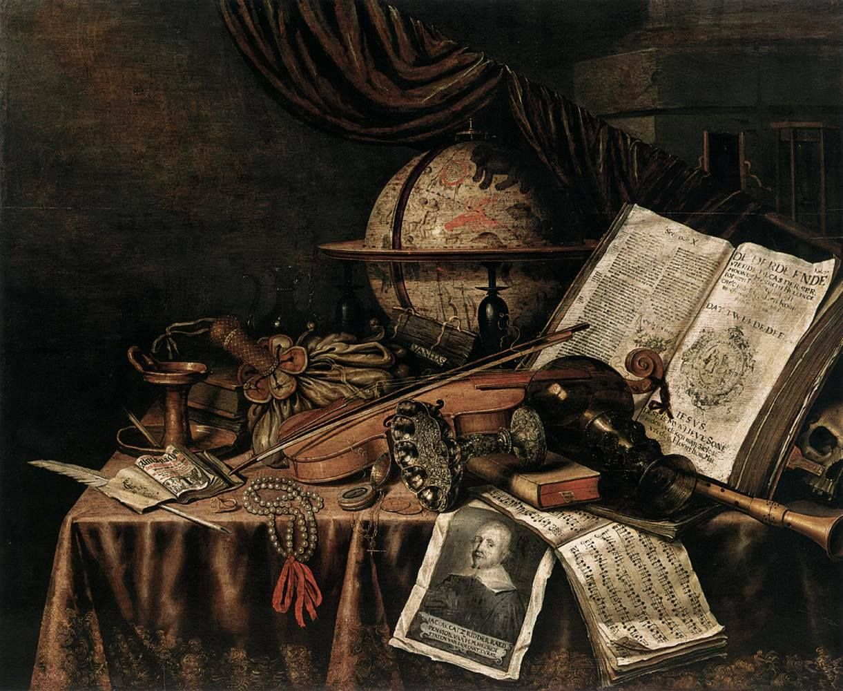 Evert Collier - Vanitas Still-Life Evert Collier. (1642–1708 ...