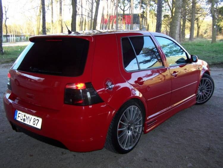 tuning auto vw golf 4
