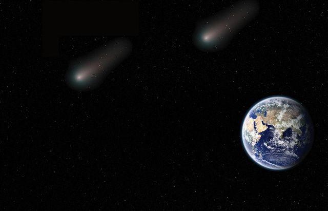 Wer ein Hochleistungsteleskop besitzt, kann zu Beginn der neuen Woche ein ungewöhnliches Spektakel beobachten: Gleich zwei Kometen fliegen kurz nacheinander an unserem Planeten vorbei.Nach Einschätzung der US-Weltraumbehörde Nasa könnte es sich be...