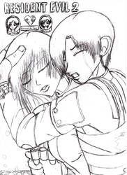 Resident Evil 4: Ada and Leon by divadonna224 on DeviantArt