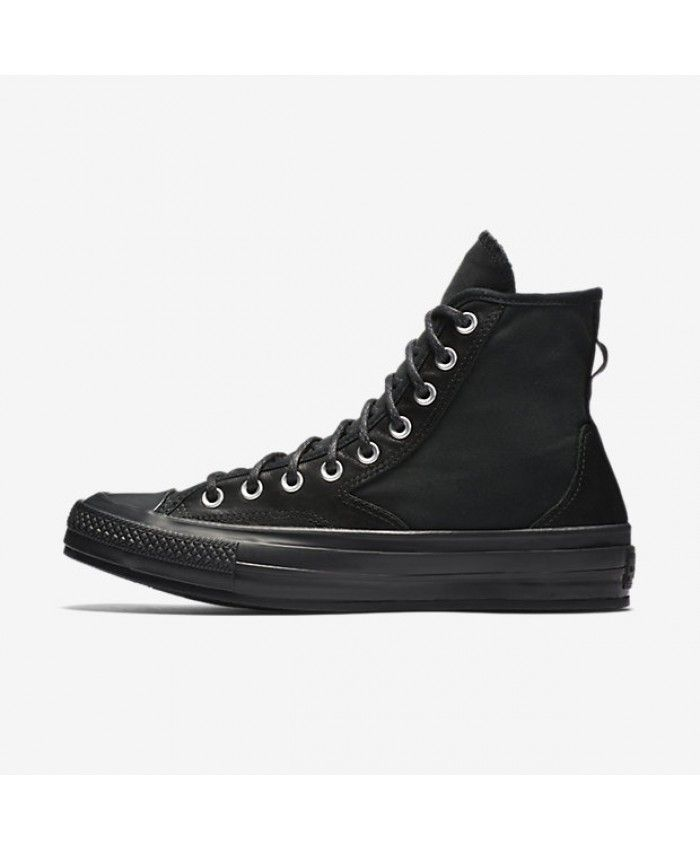 edab4efc73 Converse Chuck 70 Hiker Leather Nylon High Top Black 157487C-001 ...