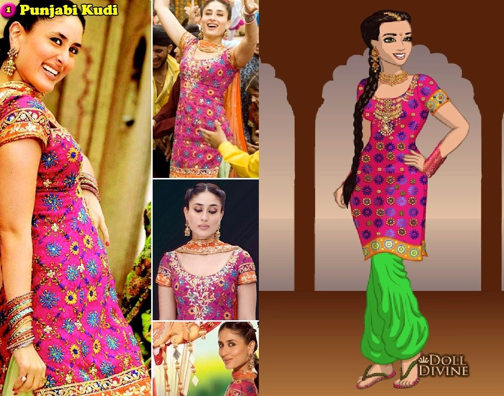 Kareena Kapoor Nagada Jab We Met Indian Outfits Fashion Bollywood Pictures