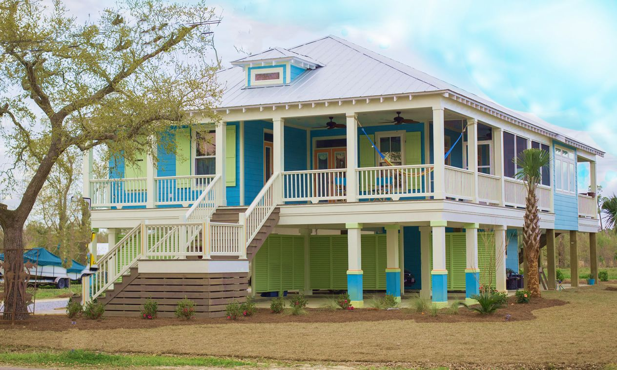 Waveland Mississippi Porch Love The Colors
