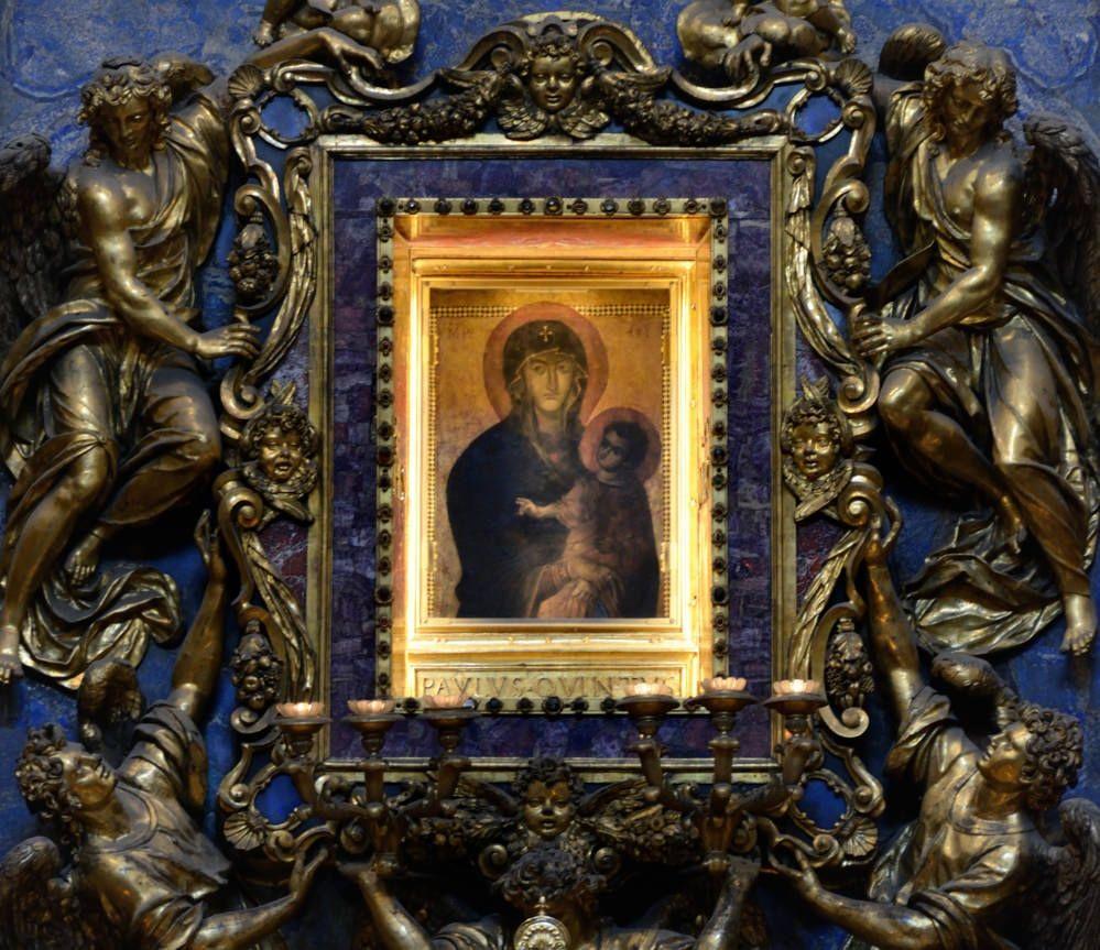 Santa Maria Maggiore - Cappella Paolina - Salus Populi Romani | da bruno brunelli