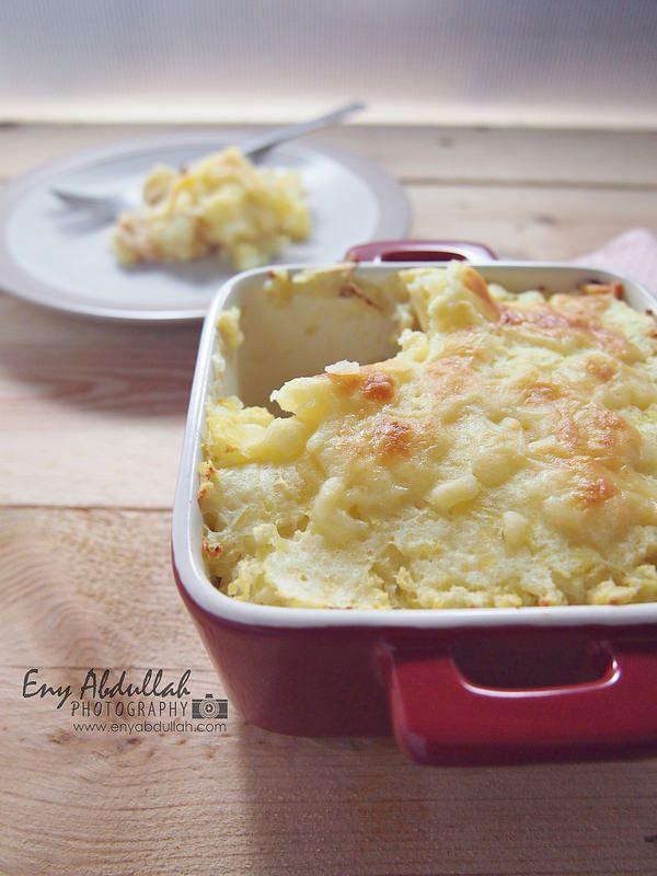 Resepi Macaroni Bakar Cheesy Baked Pasta Cheesy Bake Potato Kentang Kentang Panggang Makaroni