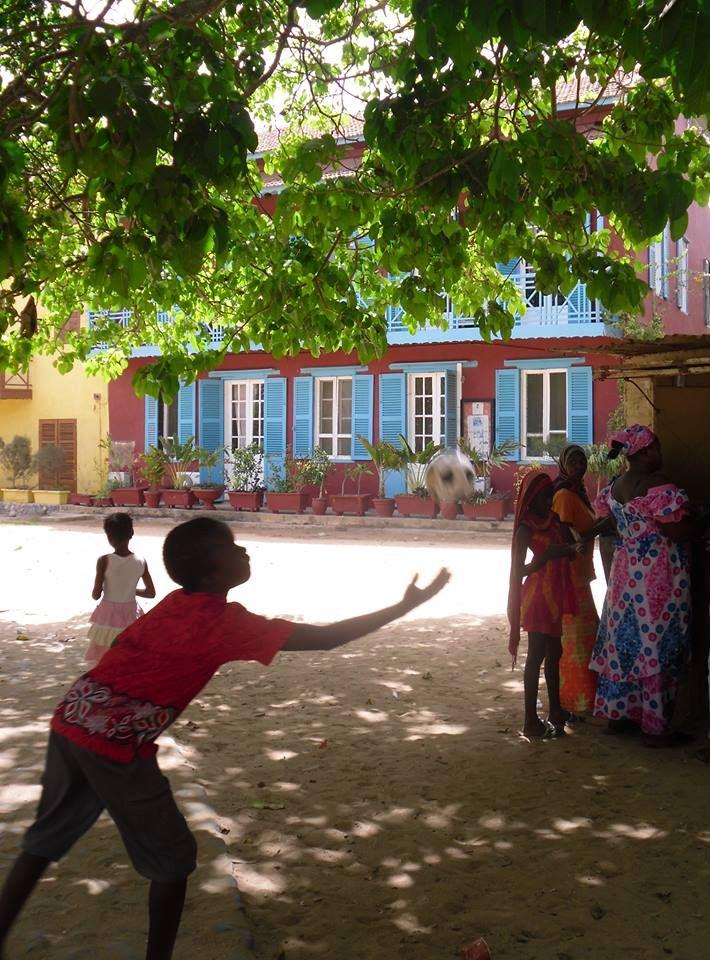 Beautiful Goree Island, Senegal Photo Cathy O'Clery