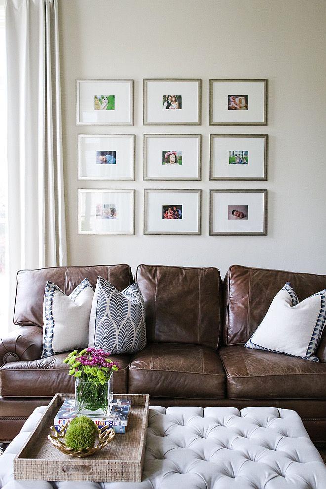 Gallery frame ideas. Gallery Frames: Custom Hobby Lobby. living-room ...