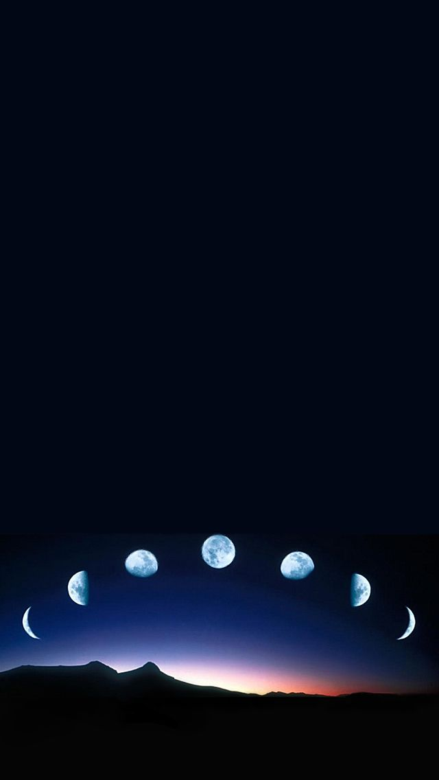 Moon Lapse Iphone 5 Wallpaper 640x1136 Iphone 5 Wallpaper Backrounds Moon