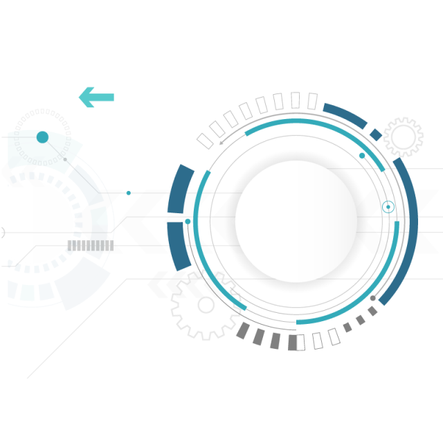 Abstract Circle Technology Background, Technology ...