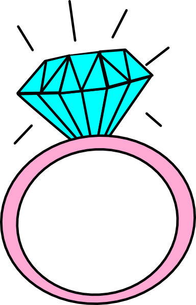 engagement ring cartoon clip art 9 in the wedding bridal shower rh pinterest co uk