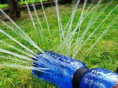 Wasserspritzdusche