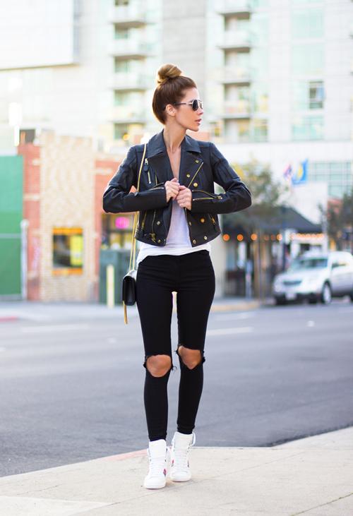 15 Ideas Para Combinar Super Fashion Tus Jeans Rotos Outfits Estilo De Calle Jeans Rotos