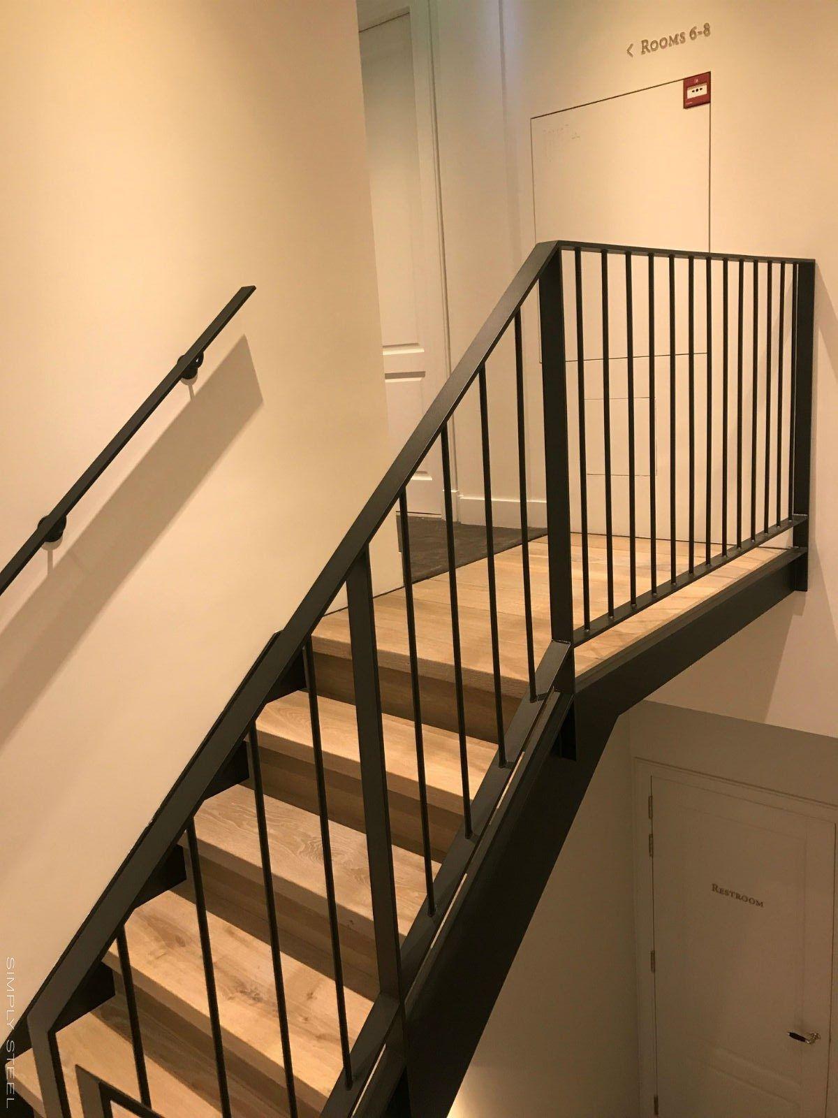 Stalen trappen en hekwerken   Simply Steel   Trappen, Trappenhuis ...