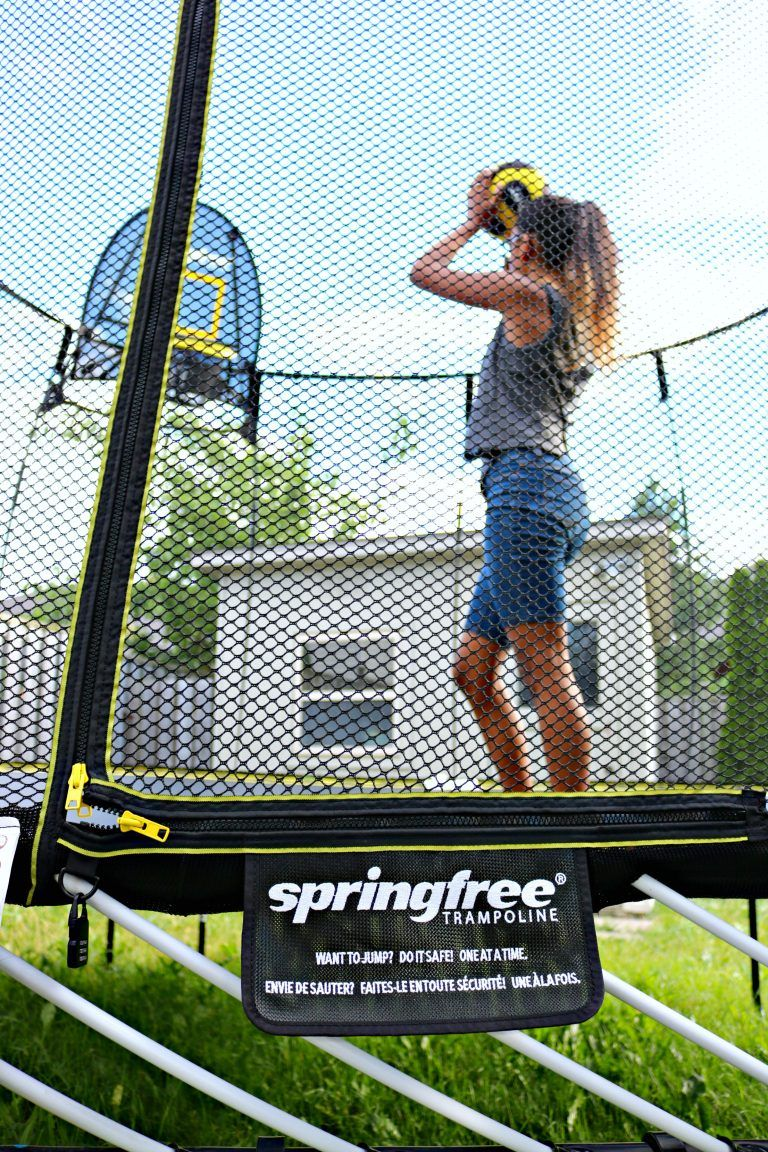 How to Keep Your Family Active with a Springfree