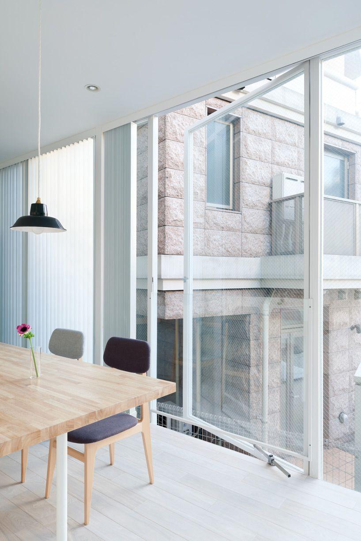 Hideaki takayanagi life in spiral architecture window door